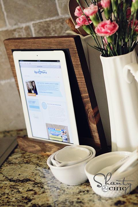 DIY iPad Stand