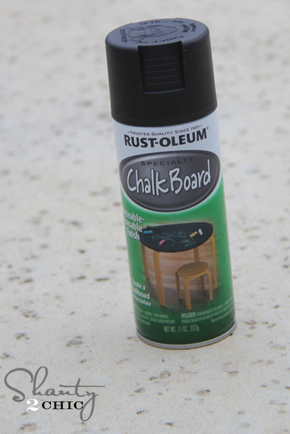 Rust-Oleum Chalkboard Spray Paint s2c