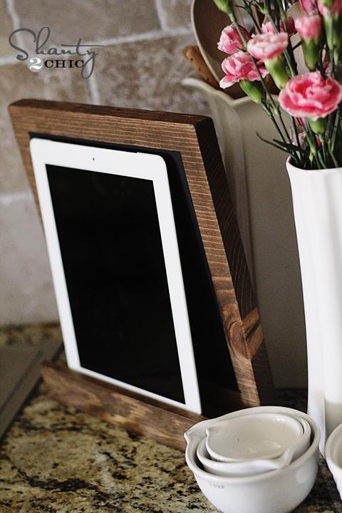 iPad Display  DIY  Shanty 2 Chic