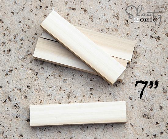 Wood for scrap vase