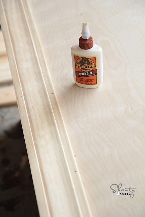wood glue trim
