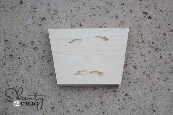 Kreg Jig Pocket Holes