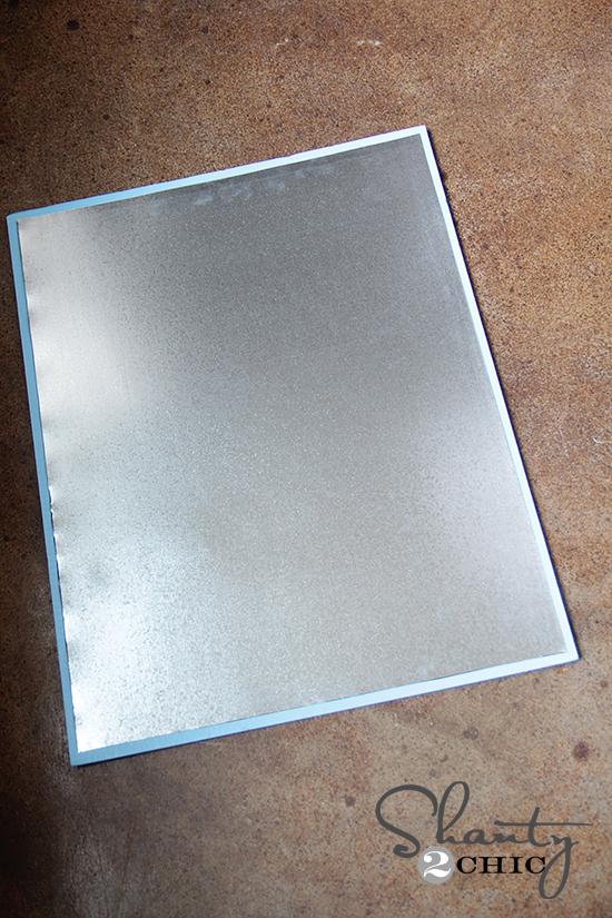 Sheet metal for magnet board