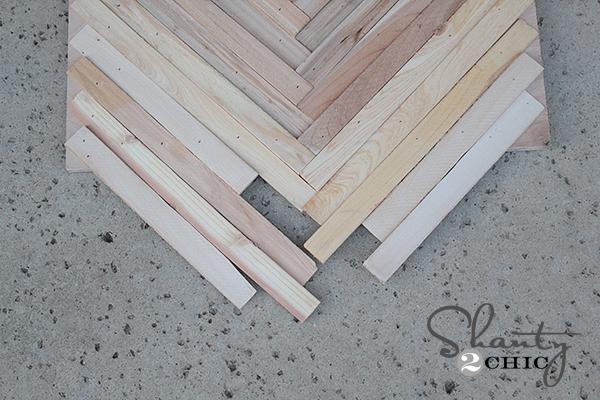 DIY Wall Art from Wood Shims! - Shanty 2 Chic