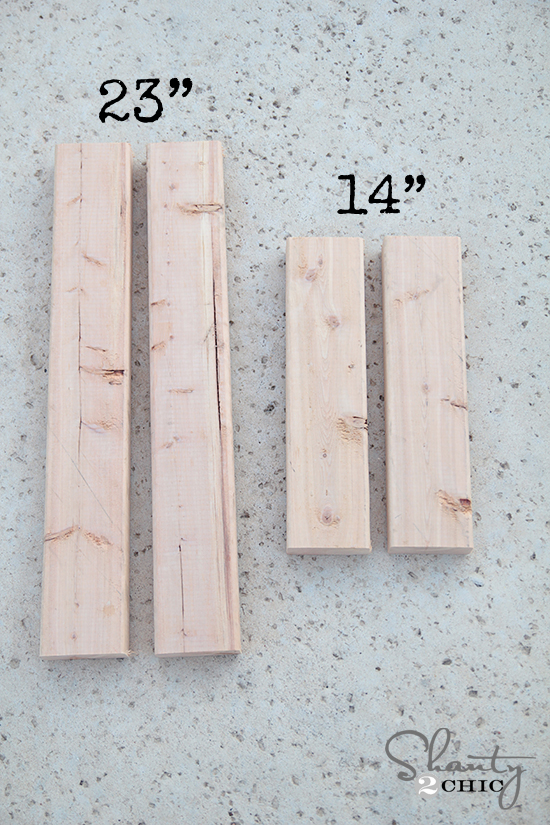 Wood Frame measurements