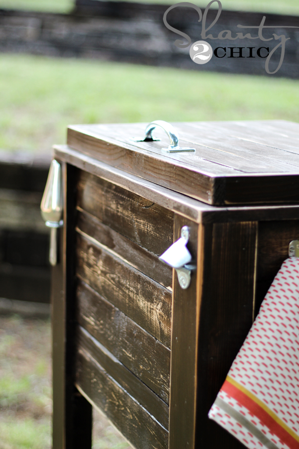 DIY_Wood_Ice_Chest