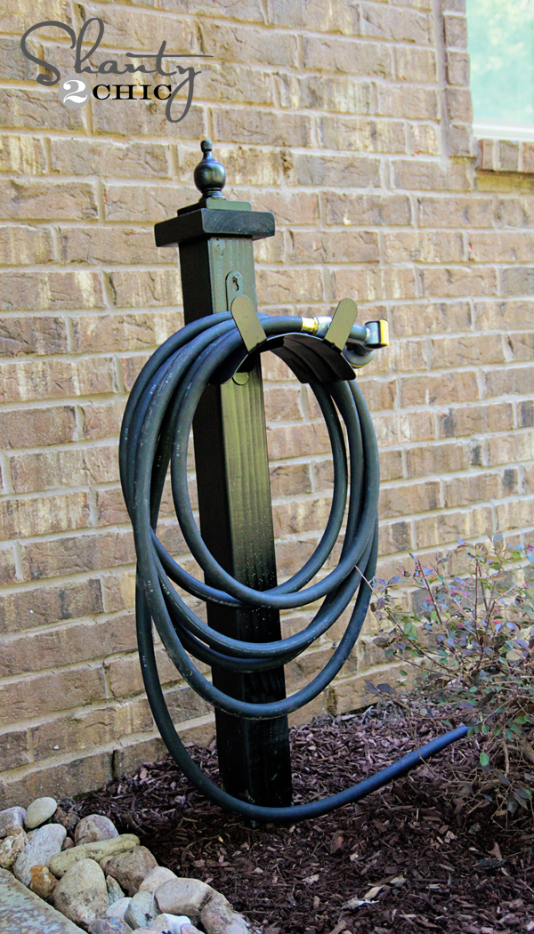 Hose Holder For The Garden DIY Shanty 2 Chic