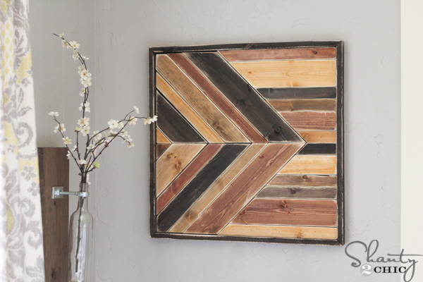 Diy Wall Art Pallet Design Shanty 2 Chic