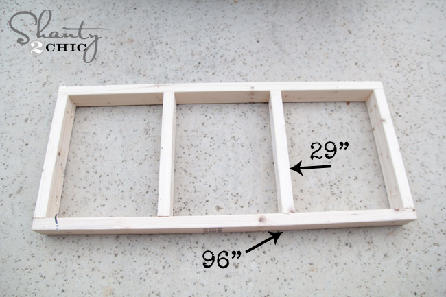 Frame for Garage Cart