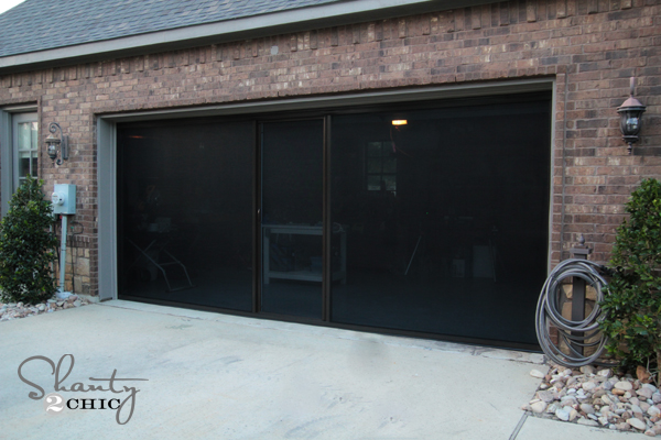 Garage Screen
