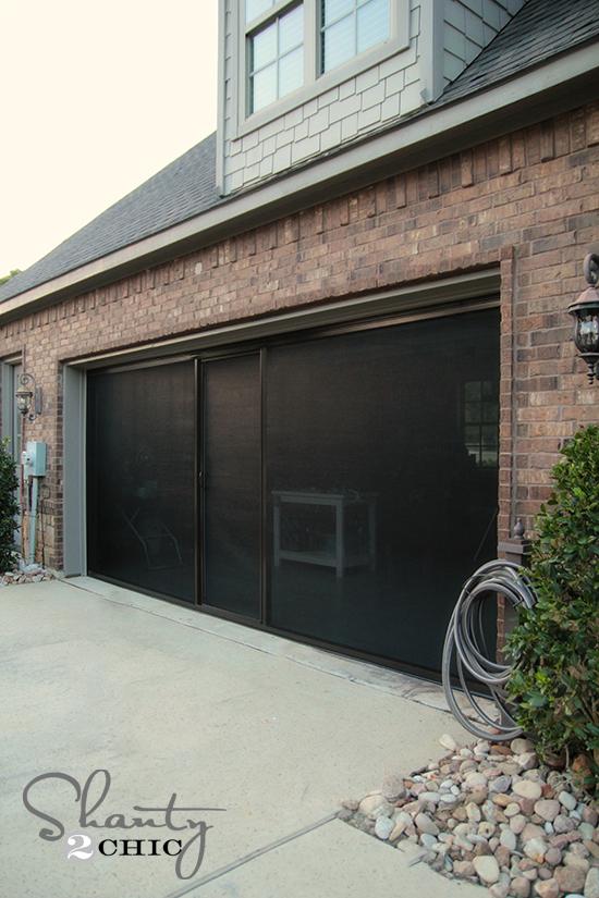 Garage Screen Door