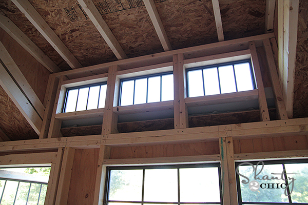 Dormer Shed Window