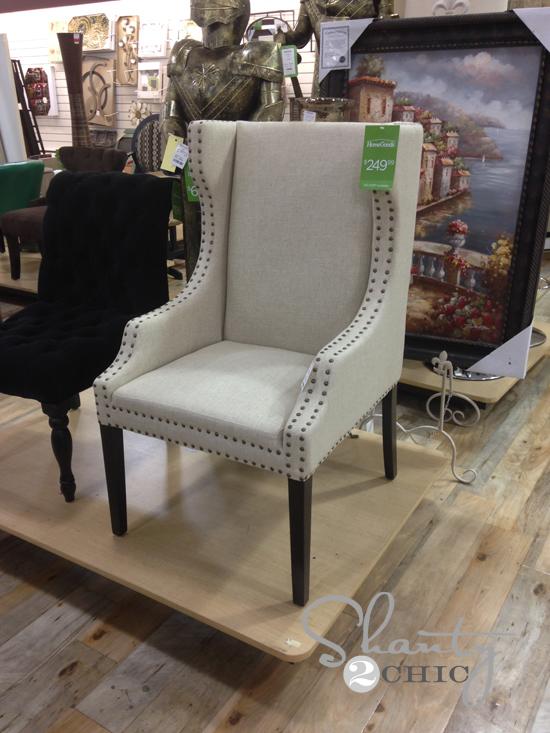 target club chair wrought iron glides ralph lauren rugs home goods – roselawnlutheran