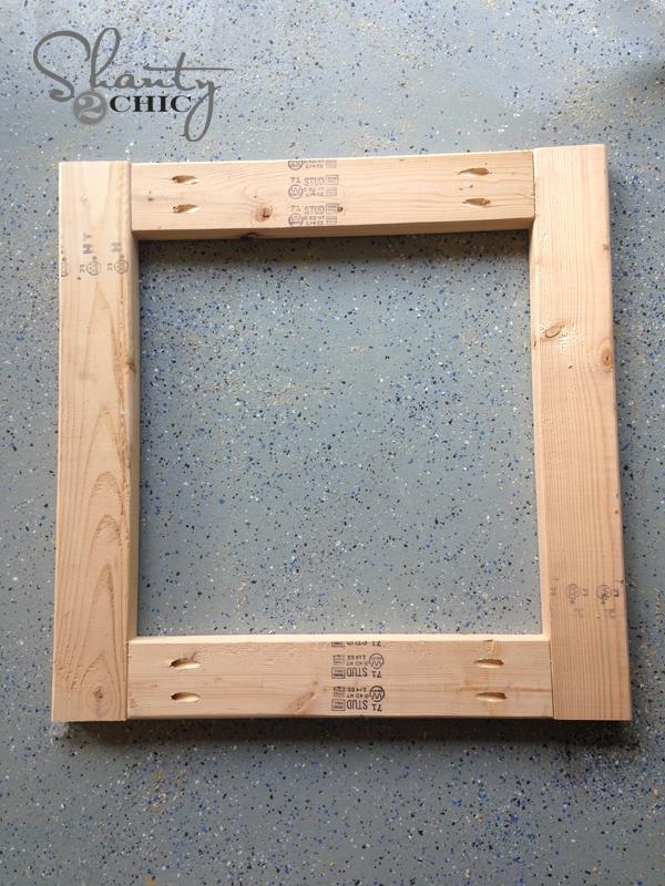 DIY Wood Memo Board