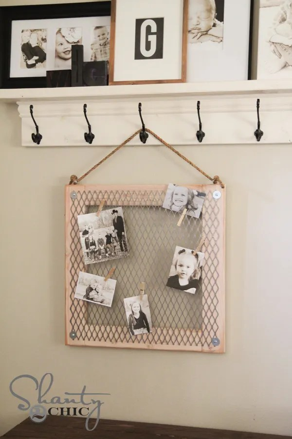 Metal Memo Board DIY