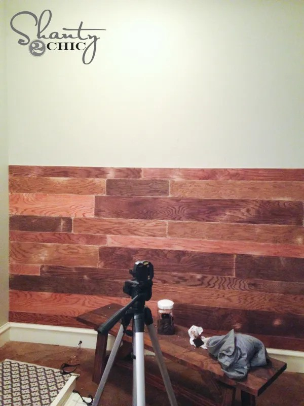 Plank Wall DIY How to