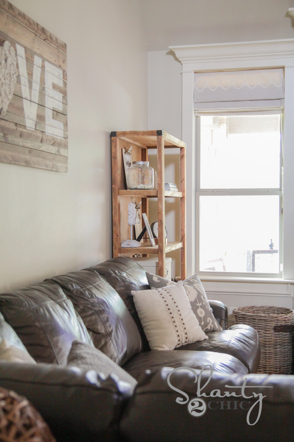 Pottery Barn Bookcase How To