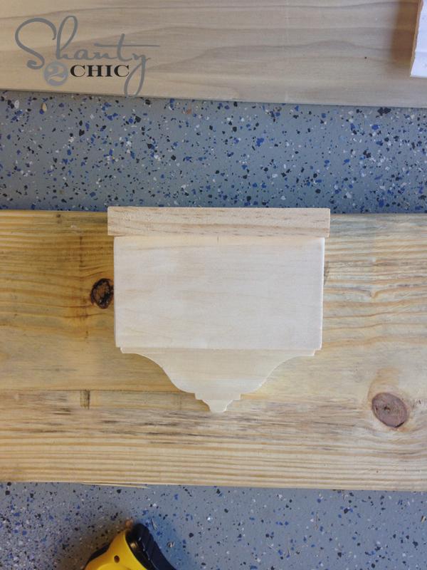 Build a wall shelf 5