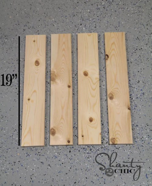 Cuts for Wood Tray