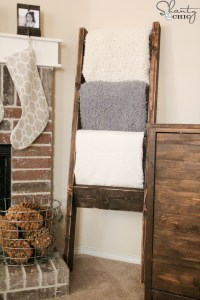 Plans to build How To Build A Ladder Quilt Rack PDF Plans