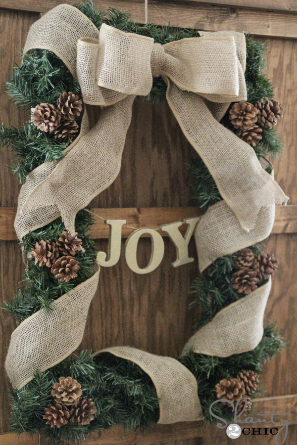 How-to-make-a-square-wreath