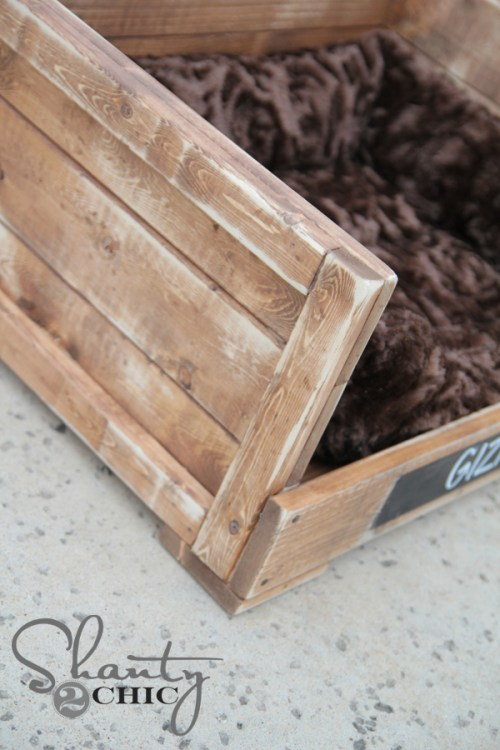 Wood Pet Bed DIY Tutorial