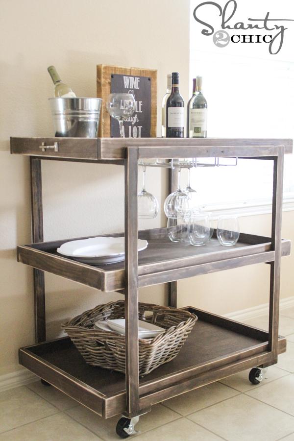 diy-wine-cart