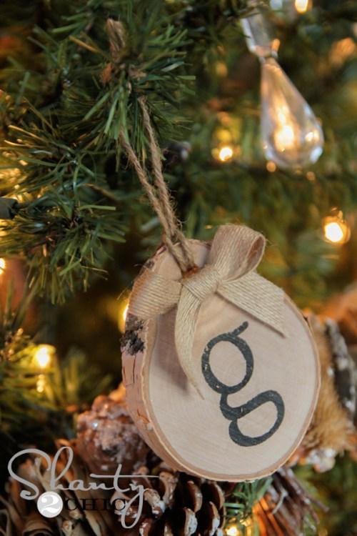 Birch Ornament