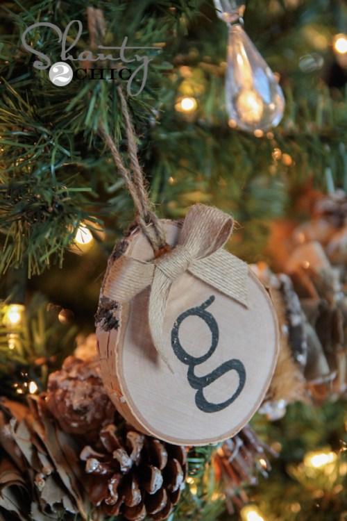 Birch Ornaments DIY