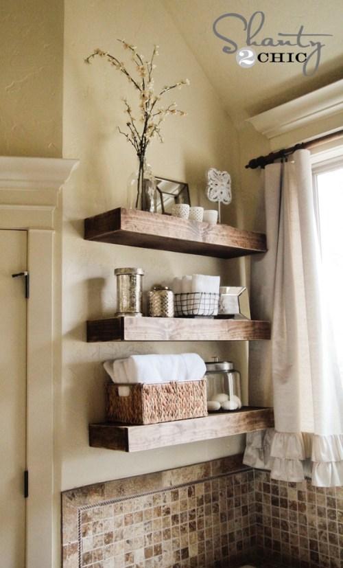 DIY Floating Shelf