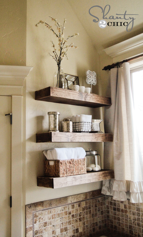 DIY Floating Shelf