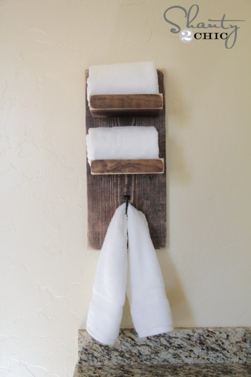 DIY Towel Hook by Shanty2Chic