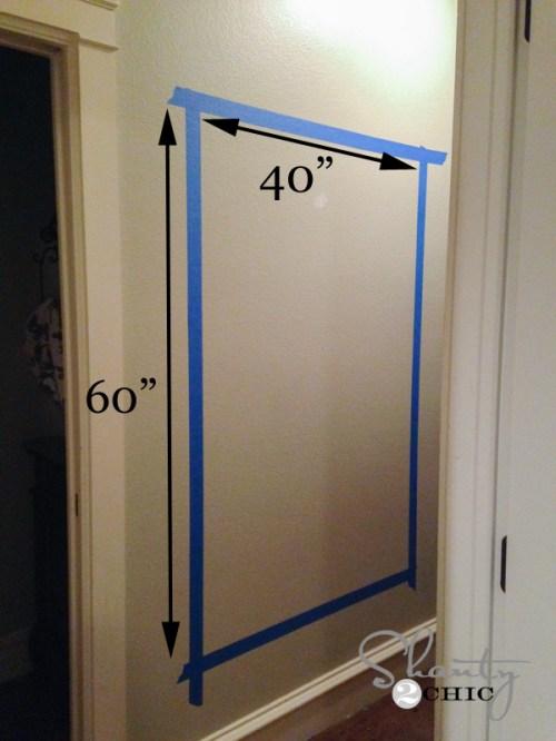 Measurements of Chalkboard Wall