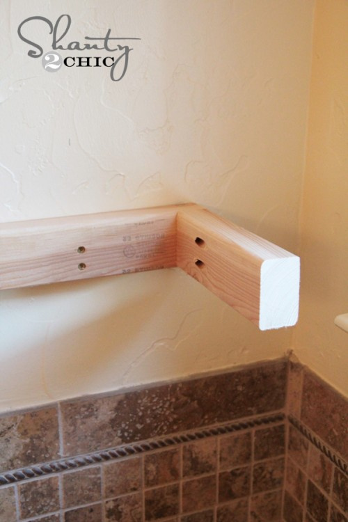 Easy DIY Floating Shelves  Floating Shelf Tutorial Video