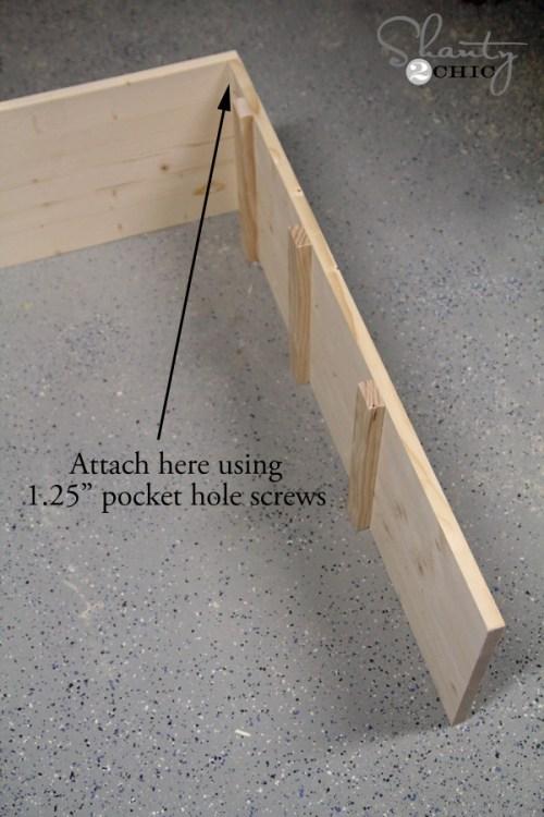 Building a toy storage unit