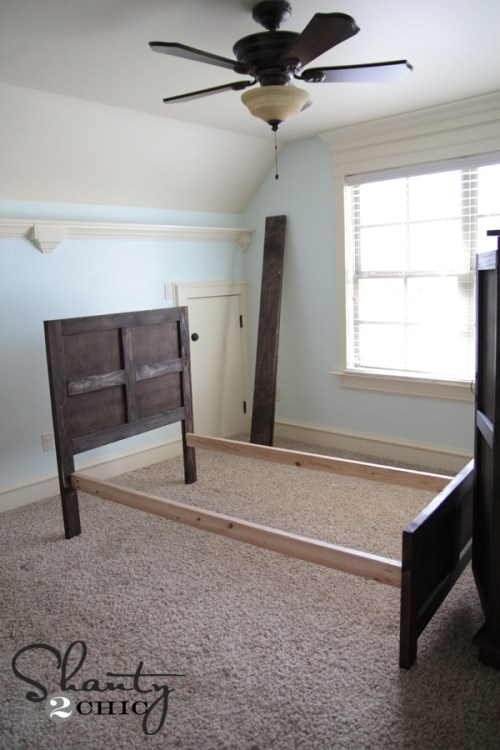 DIY Twin Bed