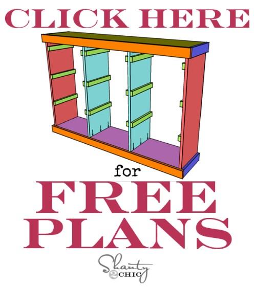 Free Plans Ikea Storage System