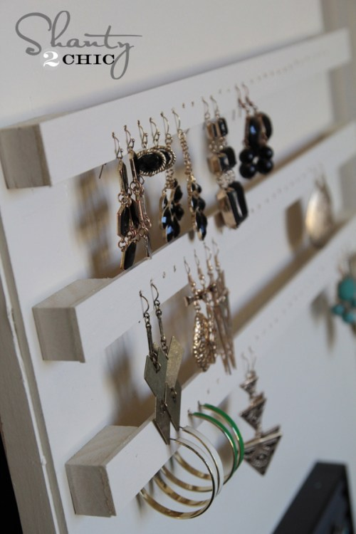 earring holder diy