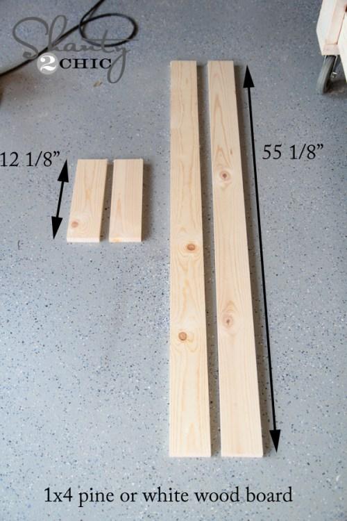 wood for mirror door