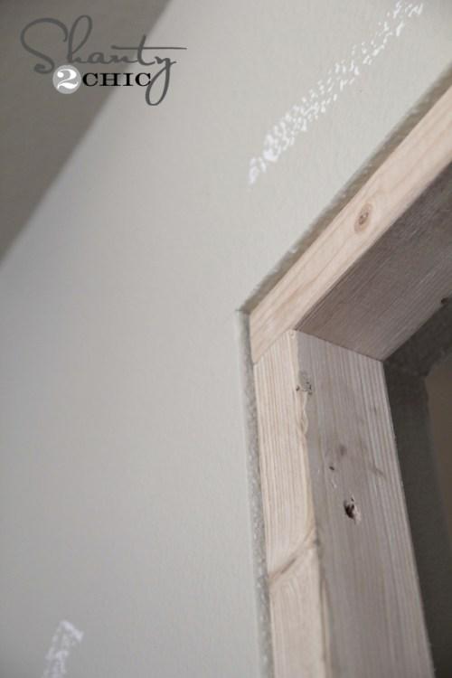 Framing a wall