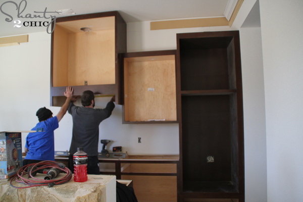 installing-cabinets