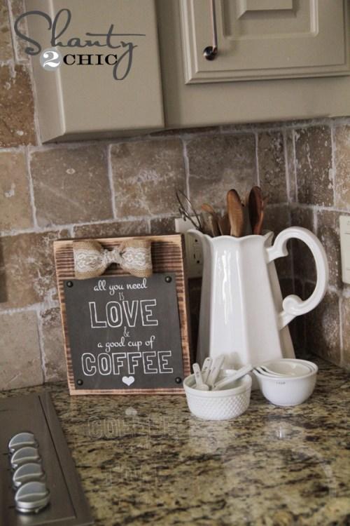 Coffee Free Printable and Frame