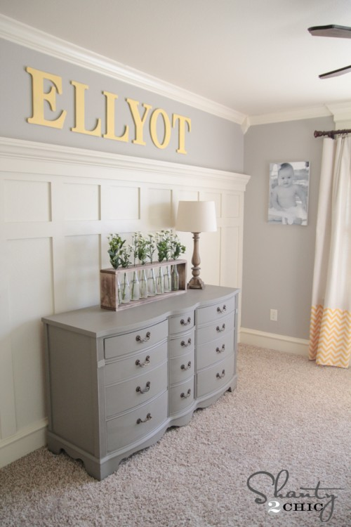 Gray paint color for girls bedroom
