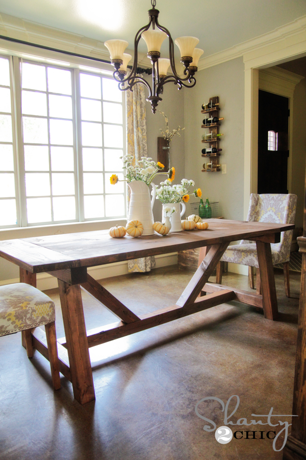ashley furniture kitchen island cheap islands for sale restoration hardware inspired dining table $110 ...