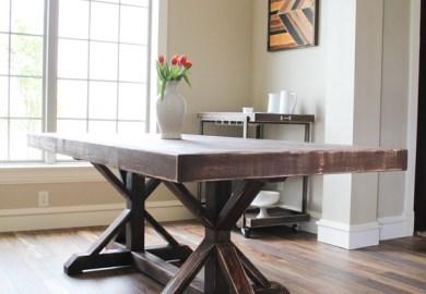 Farmhouse Table Dining Room