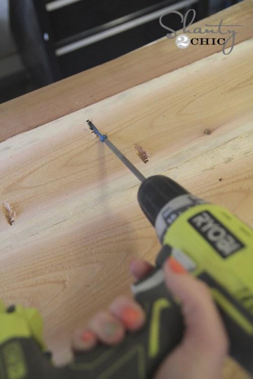 cedar bench how to