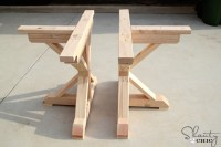 Restoration Hardware Inspired Dining Table for $110 ...