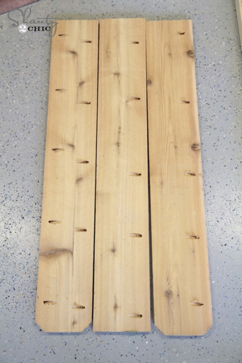 wood for planter box bench