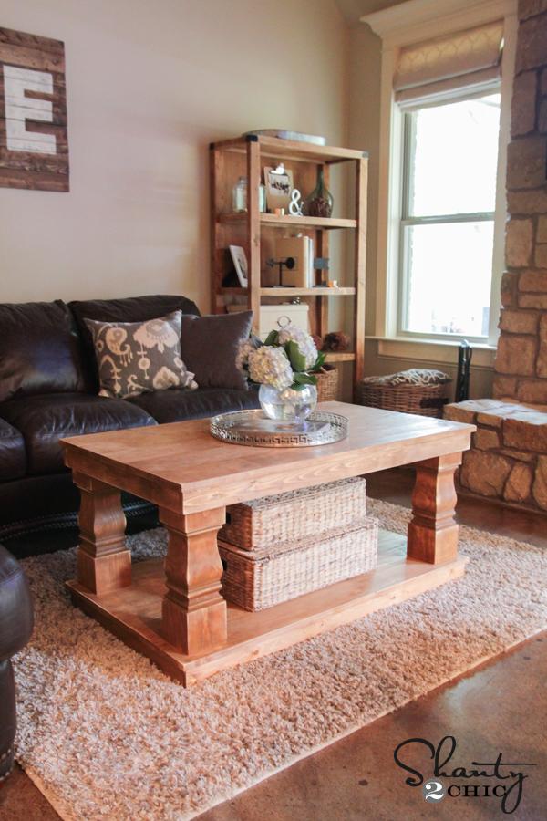 Modern Farmhouse Coffee Table Shanty 2 Chic