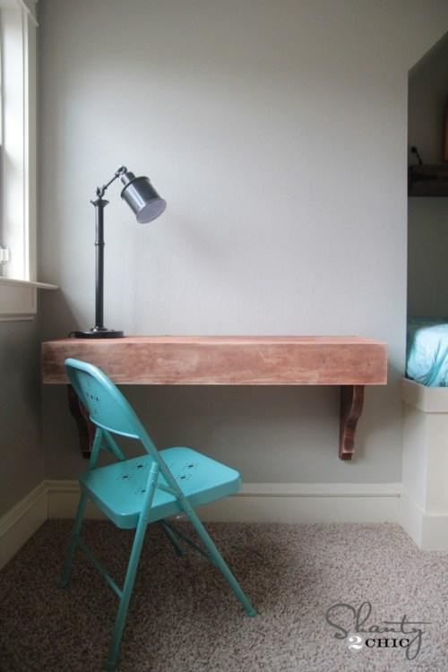 DIY Corbel Desk